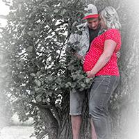 Paarshooting mit Babybauch