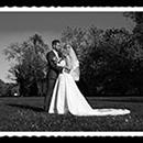 Brautpaarshooting altes Bild schwarz-weiss