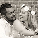 Verlobungsshooting in Jena - schwarz-weiß-Fotografie