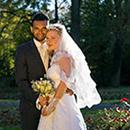 Fotoshooting Brautpaar in Weissenstadt in der Abendsonne