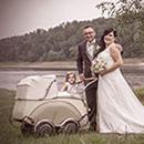Hochzeitsreportage - Fotoshooting an der Bleilochtalsperre