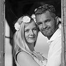 Engagement-Fotoshooting eines verlobten Paares in Hirschberg/Plauen