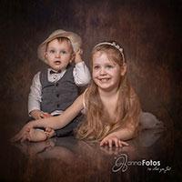 Geschwisterbild - fotografie - Hannafotos portrait-studio-vintage-plauen