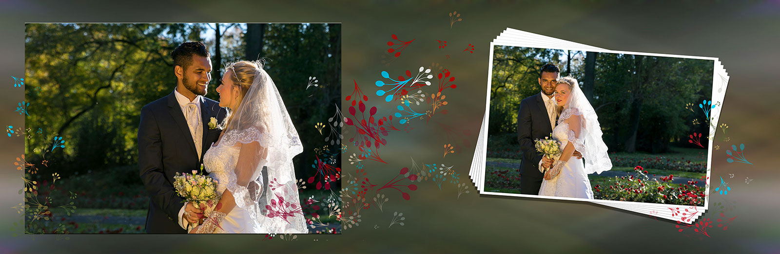 Panorama Fotobuch zur Hochzeit - Luxusbuch von MSB