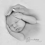 Fotografie in Bad Loebenstein - schlafendes Neugeborenes