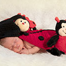 Fotoshooting in Tanna - marienkäfer Kostüm Baby